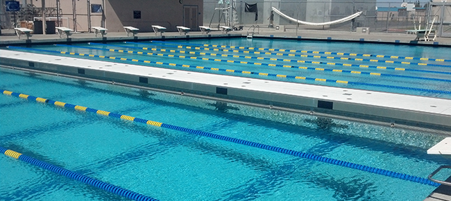 competition pool bulkhead