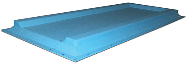 pool slide runout safety pad