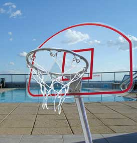 ClearShot Basketball Goal